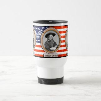 George A. Custer Travel coffee mug