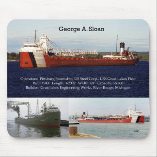 George A. Sloan mousepad