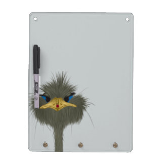 George And His Visitor Dry Erase Board