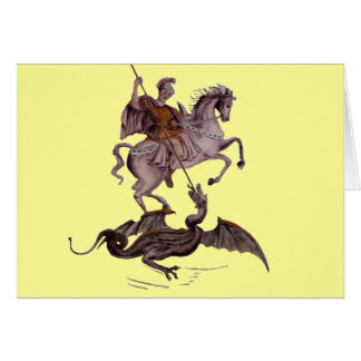 GEORGE AND THE DRAGON CARD