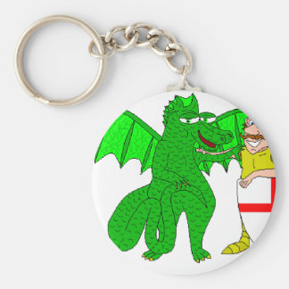 George and the Dragon Key Chains