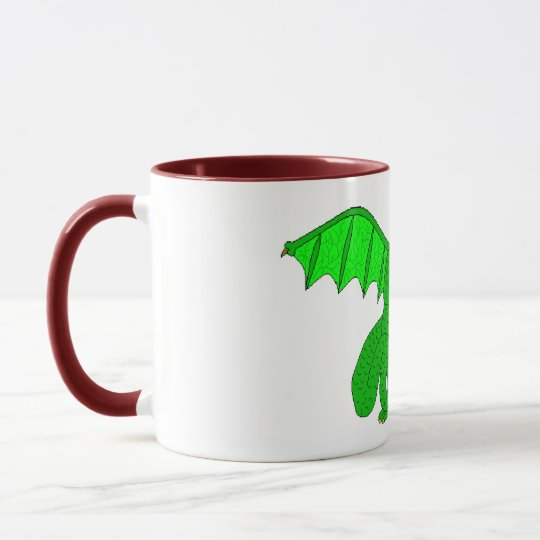 George and the Dragon Mug