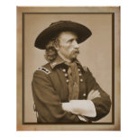 George Armstrong Custer 1876 Photograph Posters