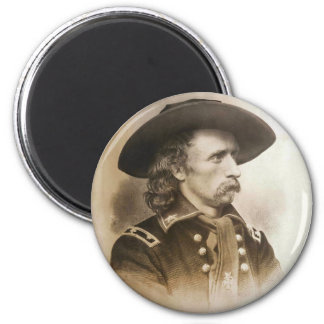 George Armstrong Custer circa 1860s 2 Inch Round Magnet