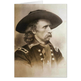 George Armstrong Custer circa 1860s Card