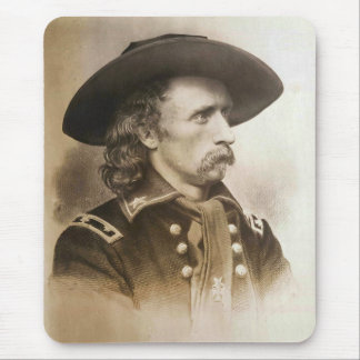 George Armstrong Custer circa 1860s Mouse Pads
