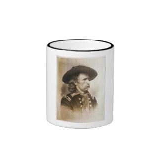 George Armstrong Custer circa 1860s Ringer Coffee Mug