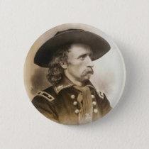 George Armstrong Custer circa 1860s Pinback Button