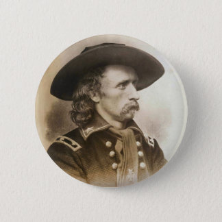 George Armstrong Custer circa 1860s Pinback Button