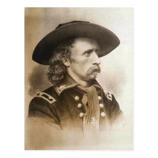 George Armstrong Custer circa 1860s Tarjetas Postales
