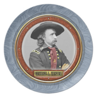 George Armstrong Custer Dinner Plate