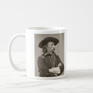 George Armstrong Custer Classic White Coffee Mug