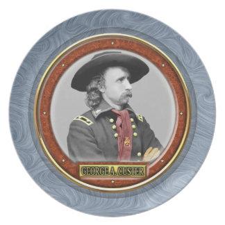 George Armstrong Custer Platos De Comidas