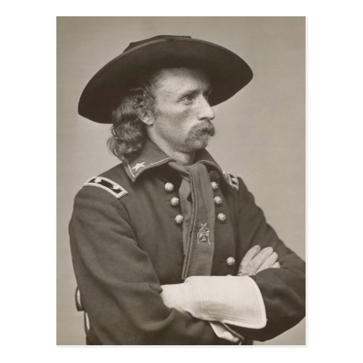 George Armstrong Custer Postcard