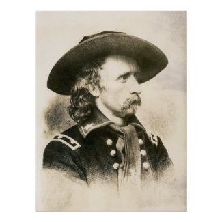 George Armstrong Custer print