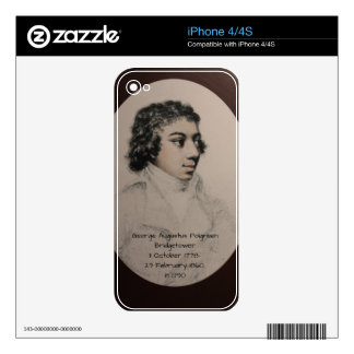 George Augustus Polgreen Bridgetower 1790 Decal For iPhone 4