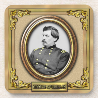 George B. McClellan Civil War Coaster