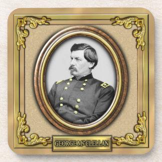 George B. McClellan Civil War Coaster