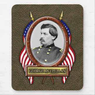 George B. McClellan Civil War Mouse Pad