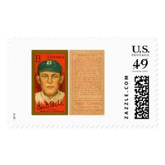 George Bell Brooklyn Baseball 1911 Postage Stamp