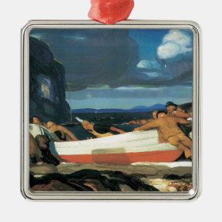 George Bellows el Dory grande Ornamento De Navidad