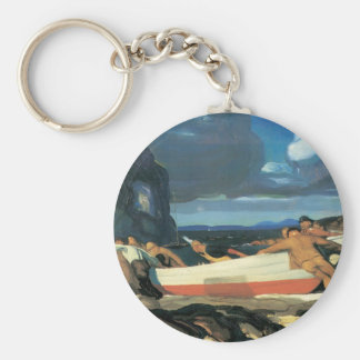 George Bellows The Big Dory Keychain
