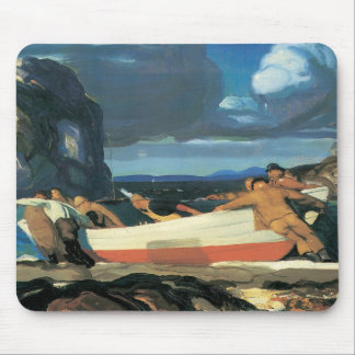George Bellows The Big Dory Mousepad