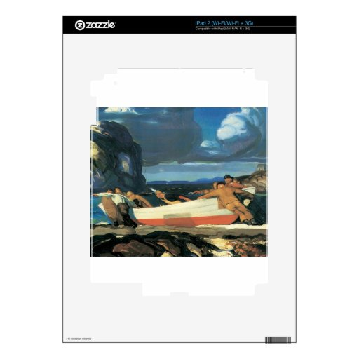 George Bellows The Big Dory Skin For The iPad 2