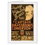 George Bernard Shaw 1938 WPA Card
