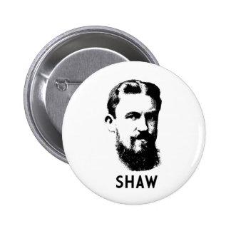 George Bernard Shaw 2 Inch Round Button