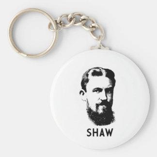 George Bernard Shaw Keychain