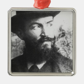 George Bernard Shaw Metal Ornament
