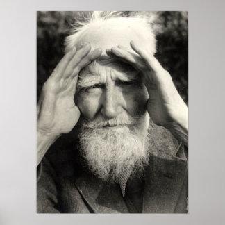 George Bernard Shaw Poster