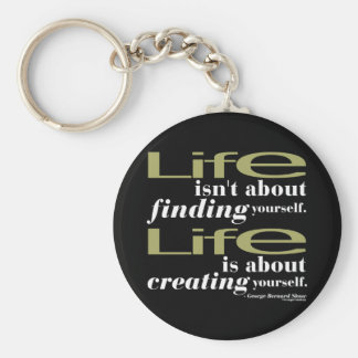 George Bernard Shaw Quote Key Chains