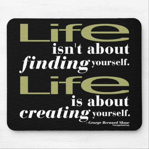 George Bernard Shaw Quote Mouse Pad