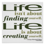 George Bernard Shaw Quote Poster