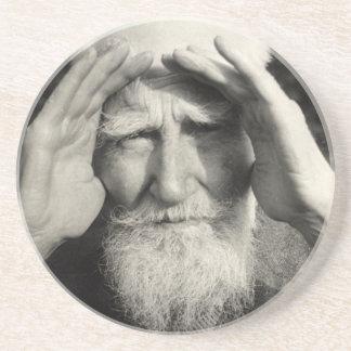 George Bernard Shaw Sandstone Coaster