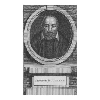 George Buchanan, engraved for Universal Magazine Poster