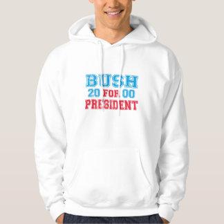 George Bush 2000 Retro Hoodie