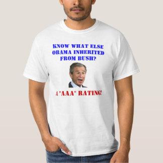 George Bush: AAA Rating T-Shirt