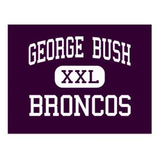 George Bush - caballos salvajes - alto - Richmond  Postales