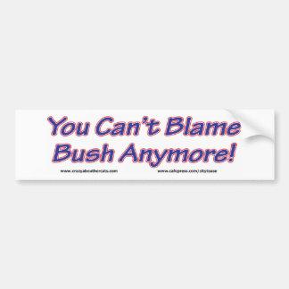 George Bush Pegatina Para Auto
