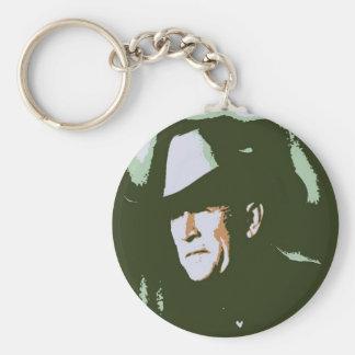 George Bush/Cowboy Keychain