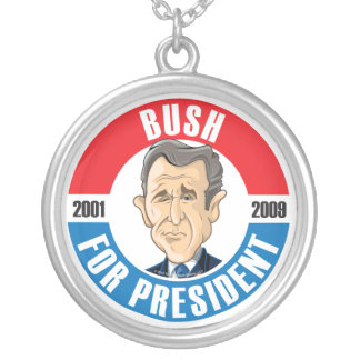 George Bush For President Necklace