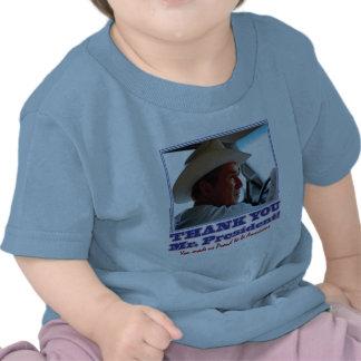 ¡George Bush/le agradece! Camisetas