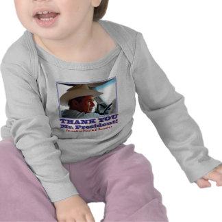 ¡George Bush/le agradece! Camiseta