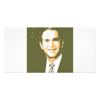George Bush Pop Art Card