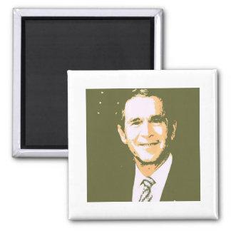 George Bush Pop Art Magnet