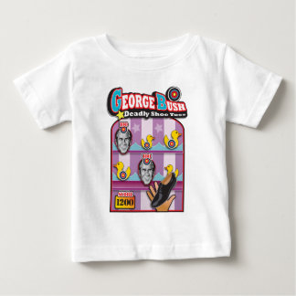 George Bush - Reporter Shoe Throw Attack! Baby T-Shirt