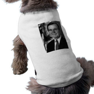 George Bush Sr. Pet T-shirt